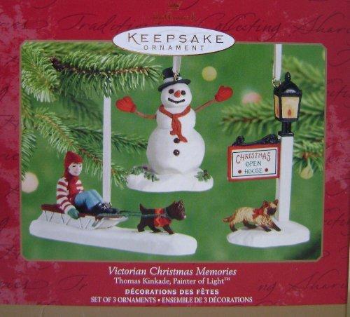 Hallmark Keepsake Victorian Christmas Memories Painter of Light Christmas Tree Ornament by Thomas Kinkade
