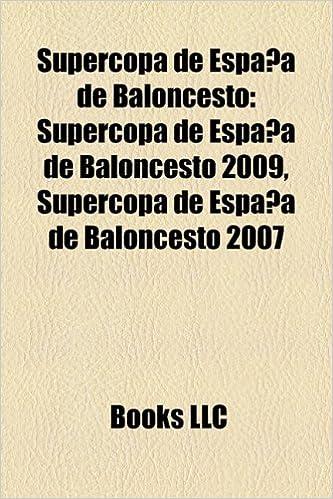 Supercopa de Espana de Baloncesto: Supercopa de Espana de ...