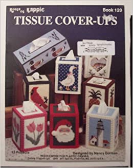 Tissue Cover Ups Plastic Canvas Craft Book Nancy Dorman N Carole