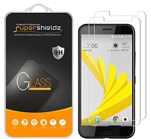 ((2-Pack) Supershieldz for HTC (10 EVO) Tempered Glass Screen Protector, Anti-Scratch, Anti-Fingerprint, Bubble Free)