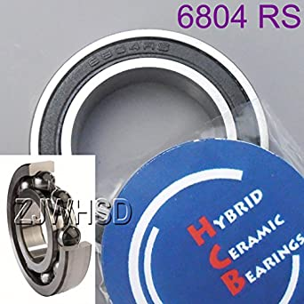 6804-2RS Bearing 20 x 32 x 7 Hybrid Ceramic mm Metric