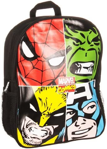 BB Designs Marvel Comics Marvel Face Off Multi Character Backpack
