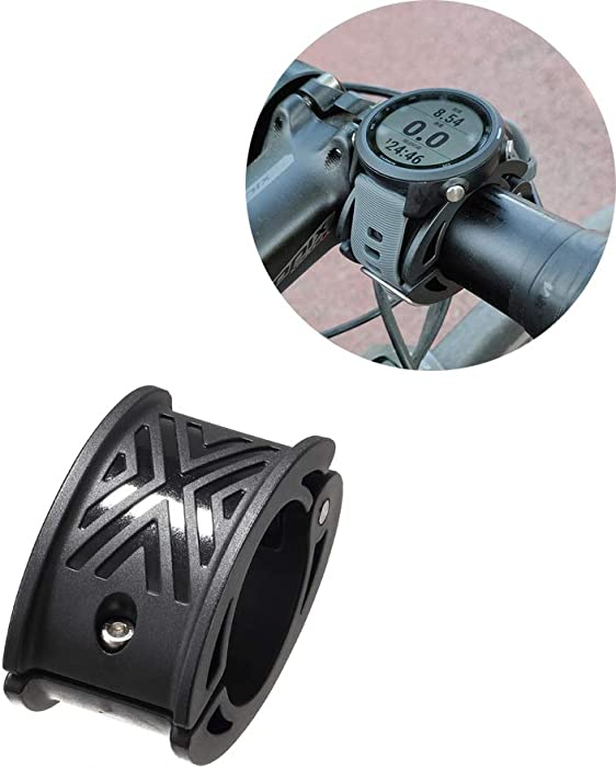 Tuson Bicycle Watch Mount,Garmin Forerunner Bicycle Mount Kit - Designed for Garmin Forerunner Watch Series and Other Watches