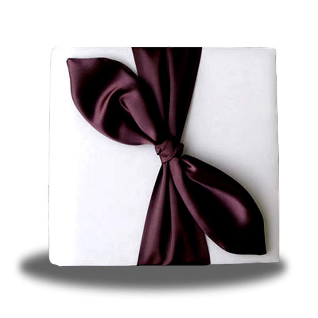 SACASUSA Gold Satin Bow Ivory Photo Album for Any Special Occasions, Great Gift by SACASUSA (Image #2)