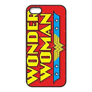 iPhone 5 5s Cell Phone Case Black Wonder Woman Logo 2 K3O8LD