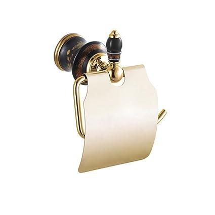 D&D-Bathroom Accessories Accesorios de Baño Set/montado en Pared/Unión de Cobre