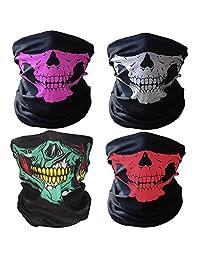 Universal Seamless Tube Skull Mask Breathable Balaclava Bandana