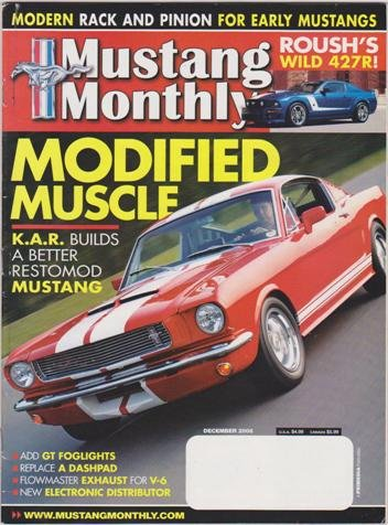 Mustang Monthly Magazine (December 2006) (Modified Muscle - K.A.R. Builds A Better Restomod Mustang)