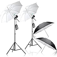 Photography Umbrella Lighting Kit – Emart 1000W 5500K Continuous Day Light Photo Portrait Studio Video Equipment