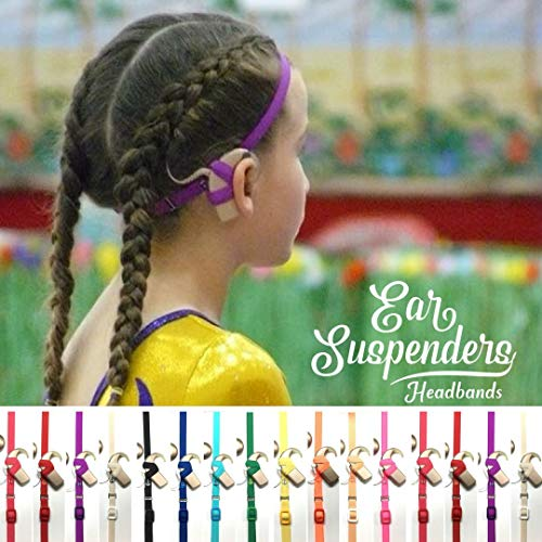(Ear Suspenders Headband for Cochlear Implant Processor Retention)