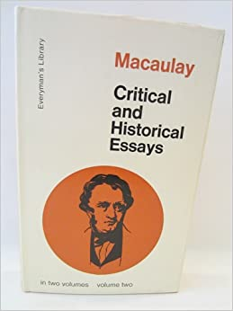 macaulay critical and historical essays vol. 2 If searching for the ebook by thomas babington macaulay critical and historical essays, volume i (dodo press) in pdf form, then you have come on to the correct site.