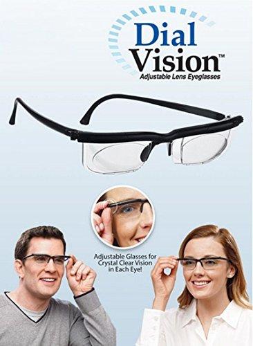 4b04905f2ff HOT SALE HD Dial Vision Adjustable Lens Glasses Set for Middle Aged Elderly  Reading Tools Reader