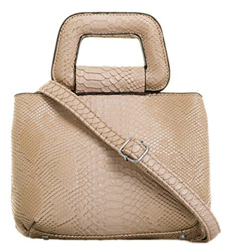 Skin Beige Clutch HandBags Girly Snake Bag HandBags Girly OfwRqxI
