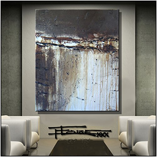 Abstract, Modern, Canvas Wall Art, Limited Edition Giclee 48x36 Ready to hang, Oil Painting Direct from top selling US artist ELOISExxx