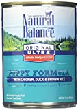 Natural Balance Puppy Formula Canned Wet Dog Food,...