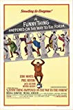 """A Funny Thing Happened on the Way to the Forum 1966 Authentic 27"""" x 41"""" Original Movie Poster Fine Phil Silvers Musical U.S. One Sheet"""
