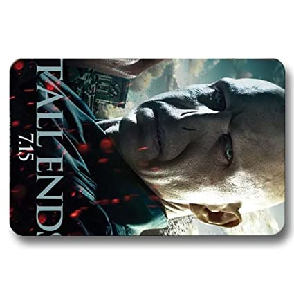 Amazon.com: Non-skid Doormat Harry Potter and the Deathly ...
