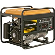 Subaru RGX6500 12.0 HP Gas Powered Industrial Generator, 6500W
