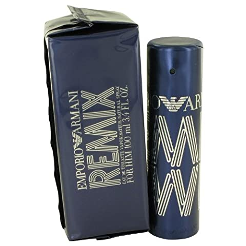 Giorgió Armáni Empŏrio Ręmix Cŏlogne For Men 3.4 oz Eau De Toilette Spray + a FREE 2 oz Hand & Nail (Emporio Armani Eau De Toilette)