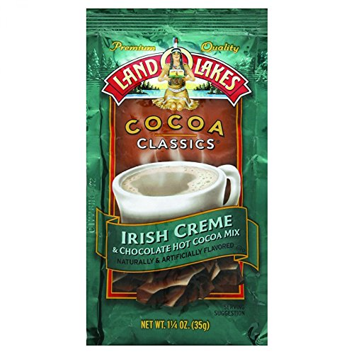 - Land O Lakes Cocoa Classic Mix - Irish Creme and Chocolate - 1.25 oz - Case of 12 - Kosher