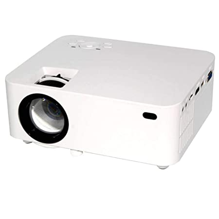 QLPP Proyector de 1800 lúmenes, proyector de Cine TFT LCD con un ...