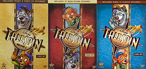 Disney TaleSpin: Volumes 1 2 3 Complete Series