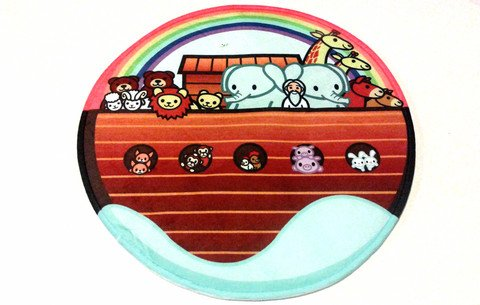 Miracle Prayer Mat Noah's Ark Design (Noahs Ark Kids Rug)