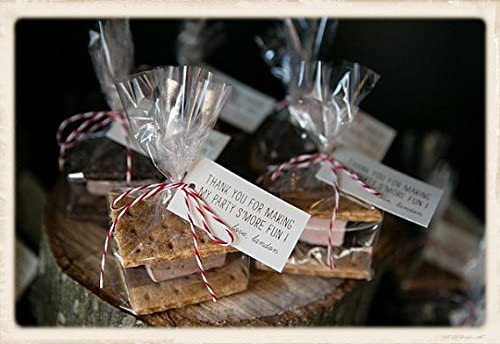 Candy Baked Goods Candles Smores Jewelry and More 100 Clear Gusseted Poly Bags 4Wx2Dx8H for Favors Cookies