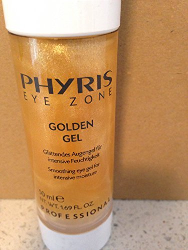 Phyris Eye Zone Golden Eye Gel 50 Ml Pro Size. Smoothing Gel Formulation for the Eye Area with a Delicate Golden Shimmer