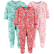 [Sponsored]Simple Joys by Carter's Baby and Toddler Girls' 3-Pack Loose Fit Polyester Jersey...