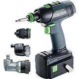 Festool 564397 T 18 Plus 3 Lithium Ion Cordless Drill Set