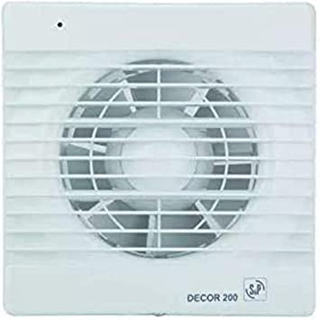 S & p decor-200 - Extractor bano/aseo decor-200c 2500rpm 20w ...