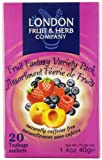 London Fruit & Herb Company Tea, Fruit Fantasy Variety Pack, 20 Count Review
