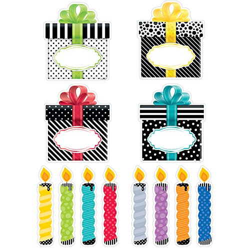 Creative Teaching Press Bold & Bright Birthday Party Cut Outs 6