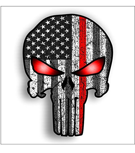 red line Punisher subduded American