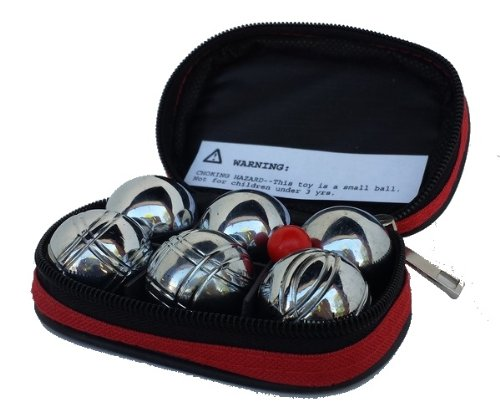Mini Petanque 6 Boules Set - 1.25 inches / 32mm by Petanque America