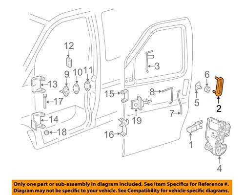 General Motors 25989399, Outside Door Handle