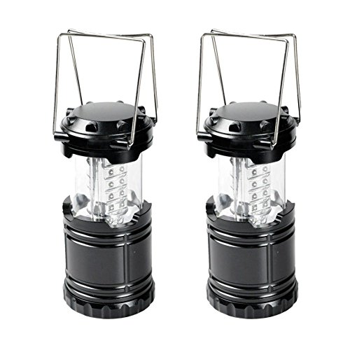 2-PACK REACTOR BRAND Atomic Bright LED Taclight Lantern Super Ultra Bright Water Resistant Lantern For Camping, Outdoors, Hunting, Emergencies, Hurricanes, Outages 30 LED Battery Powered