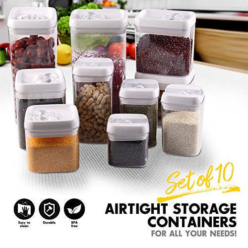Scotty 39 s tm airtight food storage container set keeps for Signoraware organise your kitchen set 8 pieces
