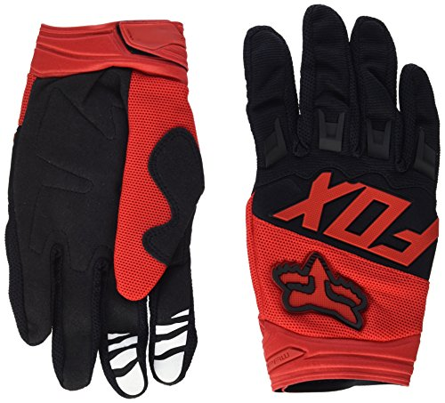 Fox Racing Leather (Fox Racing Dirtpaw Race Gloves Red, M -)