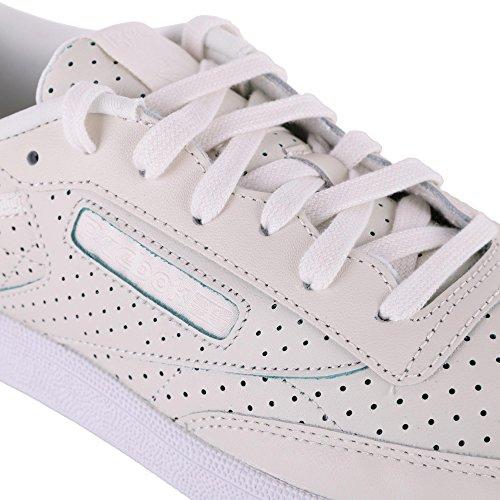 Reebok Damen Club 85 C Sneaker Beige Sauté Perf