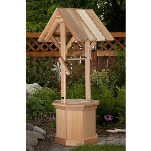 All Things Cedar 60 Wishing Well Planter