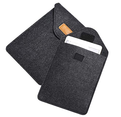 Protective Felt Carrying Sleeve Pouch Case Cover for iPad Pro 11 / iPad Air 10.5 / iPad Pro 10.5 / iPad 9.7 / Samsung Galaxy Tab S4 10.5 / Tab S3 9.7 / Tab A 10.1 / Galaxy Tab Advanced 2 10.1 (Advanced Twill)