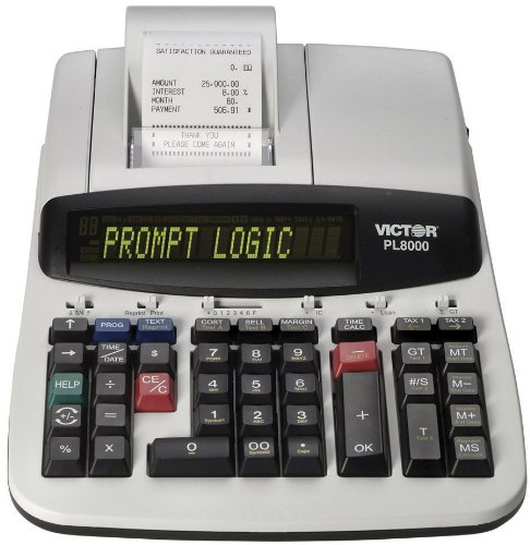 Victor Technology PL8000 Printing Calculator