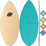 Skimboards - Performance Foam Textured Deck Skim Board - 41' Skipper Skimboard (Aqua)