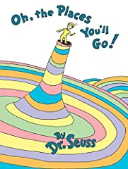 Dr. Seuss's wonderfully wise Oh, the Places You'll Go! is the perfect send-off for grads—from nursery school, high school, college, and beyond! From soaring to high heights and seeing great sights to being left in a Lurch on a prickle-ly perc...