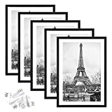 upsimples 13x19 Picture Frame Set of 5,Display