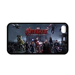 Generic Man Rigid Plastic Design Avengers Age Of Ultron Shell For Iphone 4 Light