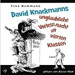 David Knackmanns unglaubliche Vorlesenacht der vierten Klassen | Tino Hemmann