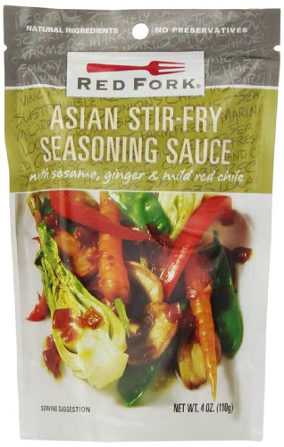 Red Fork Seasoning Sauce, Asian Stir Fry, 4 Ounce (Pack of 8)